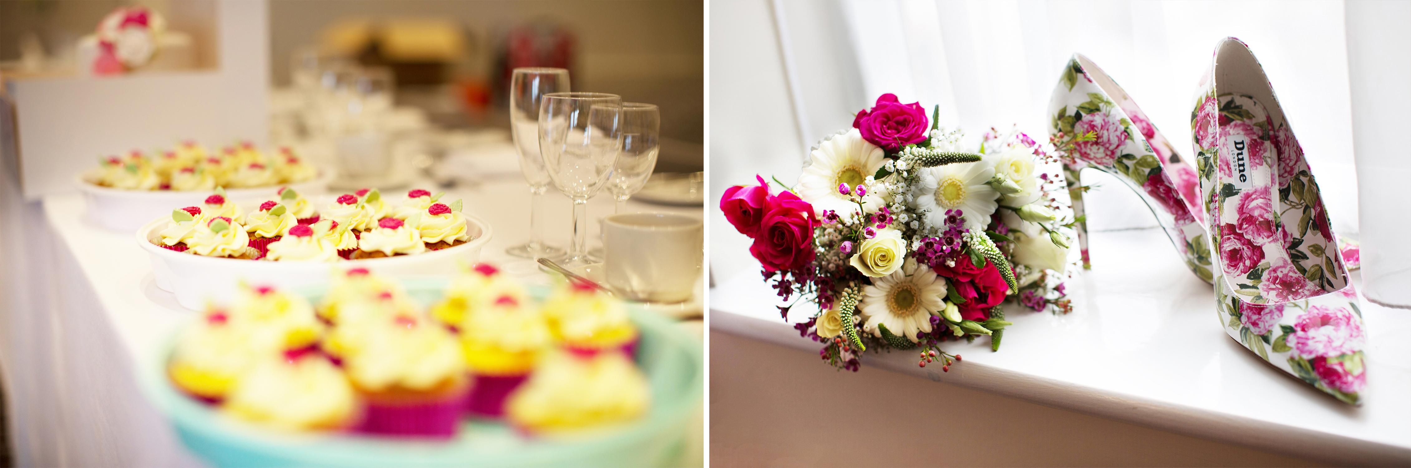 Cakes, Flowers & Shoes Wedding Wychwood Park