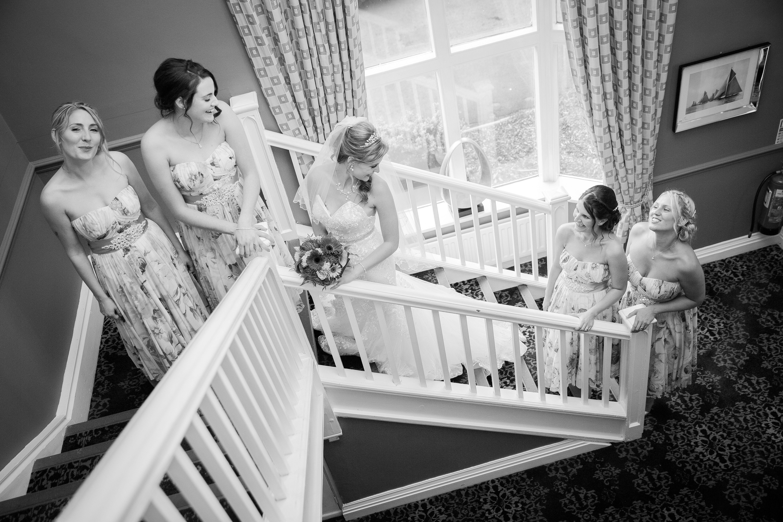 Rachel & Bridesmaides at the Chimney House