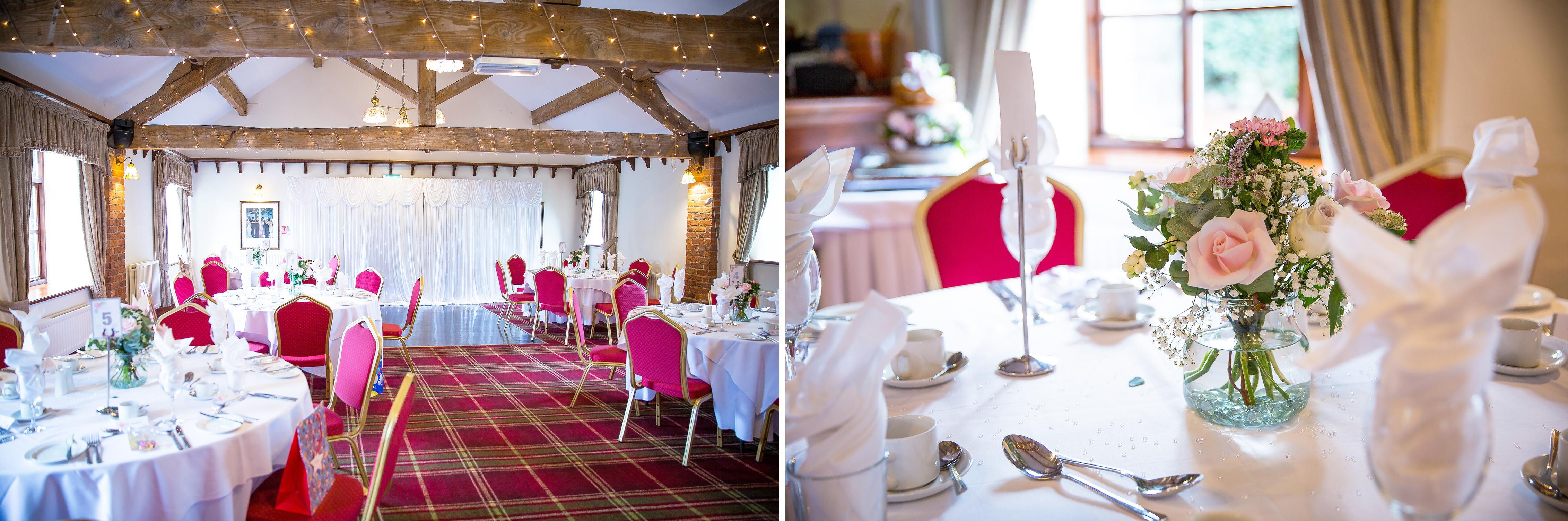 Slaters Country Inn - Wedding Breakfast Suite